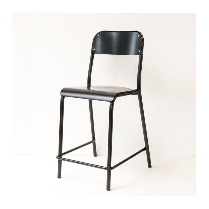 Les 25 meilleures id es de la cat gorie chaises d 39 cole for Chaise industrielle haute
