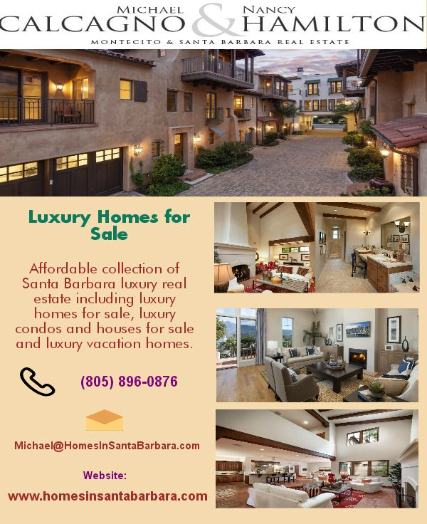 Santa Barbara real estate offers best homes,condos,commercial building,residential and homes for rentals, Feel free contact us at (805) 896-0876 and get more details visit at http://www.homesinsantabarbara.com