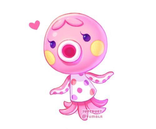 Marina - Animal Crossing Fanart