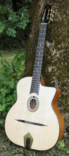 Guitars - Selmer Gypsy Guitar - Sandarac, Gypsy Guitars for sale in Essex, UK