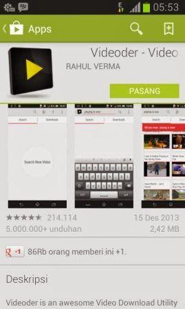 Aplikasi Android: Download Video YouTube Dengan Mudah dan Cepat - InfoTech Review