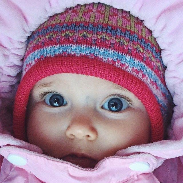 Самые красивые глаза и первый зуб #ульянавадимовна