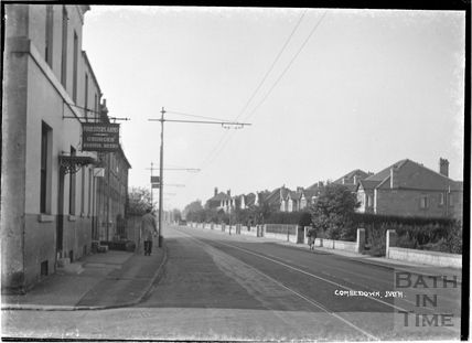 The Forrester's Arms, North Road, Combe Down c.1930s