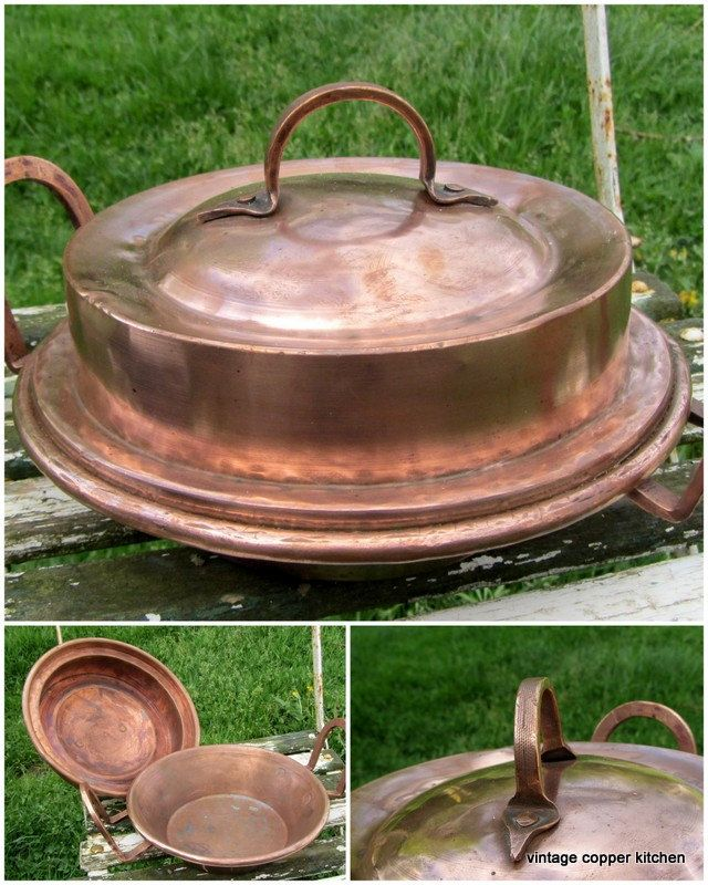 1000 Images About Vintage Copper Pans And Kitchenalia On