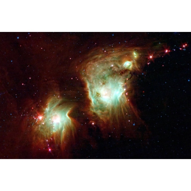 Star formation in Orion. Photo from star walk iPhone app