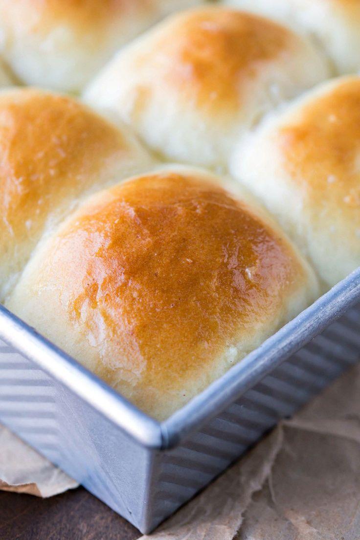Amish Dinner Rolls Recipe - light & fluffy potato bread!