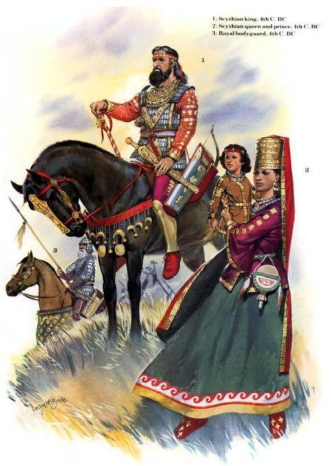 Angus Mc Bride - Reyes escitas - Siglo IV AC