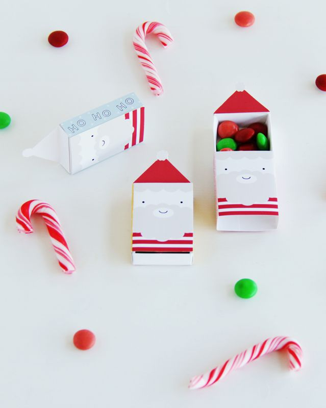 Online Advent Calendar: Santa Matchbox Favours | HOORAY! Mag
