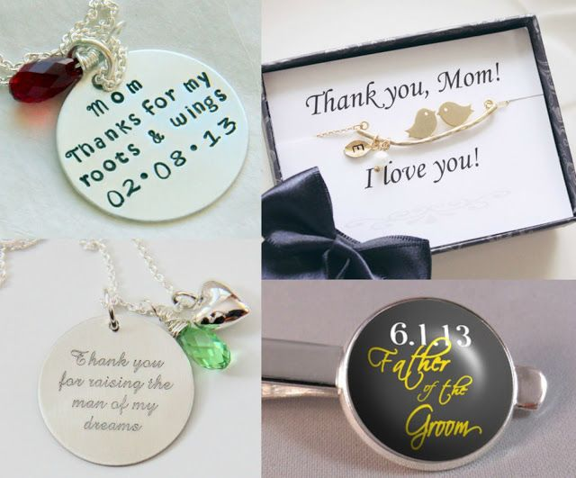 You Gift Ideas for your Parents on your wedding day Thank You Gifts ...