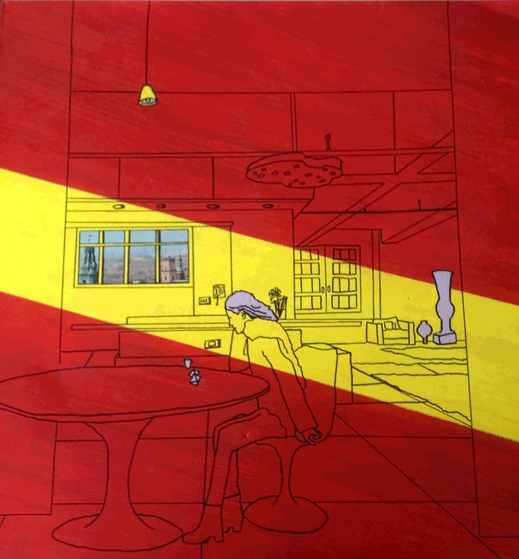 Patrick Caulfield – black outlines, and bright, saturated colours | Graphicine