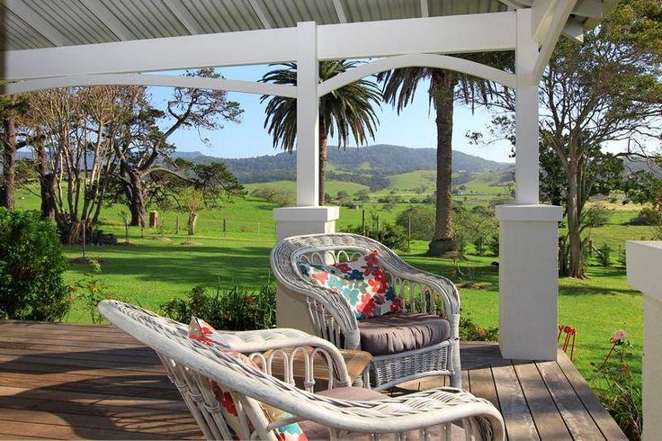 Country homestead verandah. Berry, NSW
