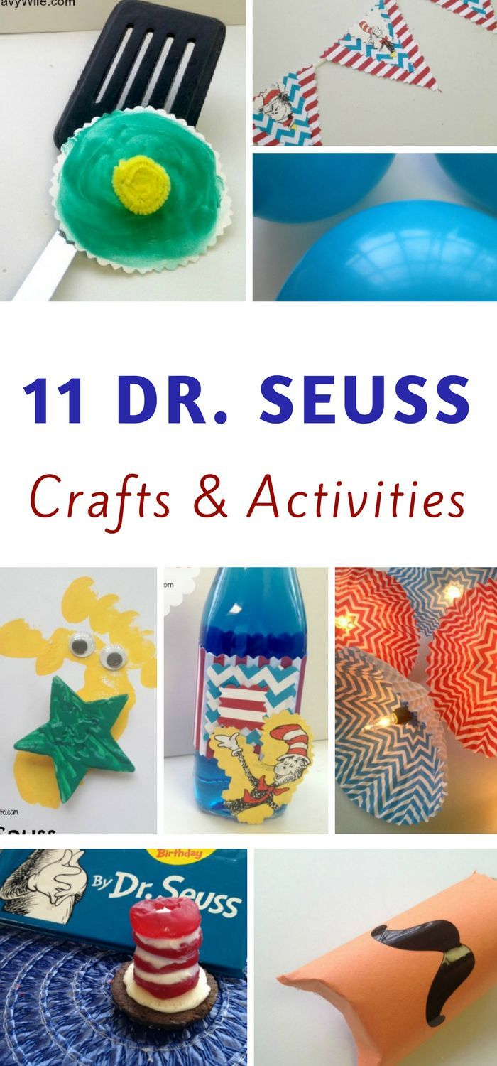 11 dr seuss crafts and activities | diy and craft ideas | pinterest