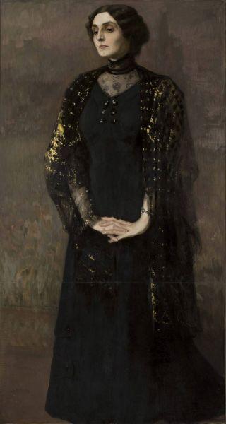 Portret kobiety - Kazimierz Stabrowski