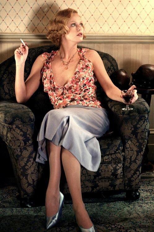 "Charlize Theron  - ""The legend of Bagger Vance"" (2000) - Costume designer : Judianna Makovsky"