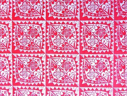 Hand Screen Printed lino Cut Tea Towel - 'Sunrises' by Plum Jam original lino cut copyright 2006 buy it at felt.co.nz contact at www.facebook.com/postimpressionsnz