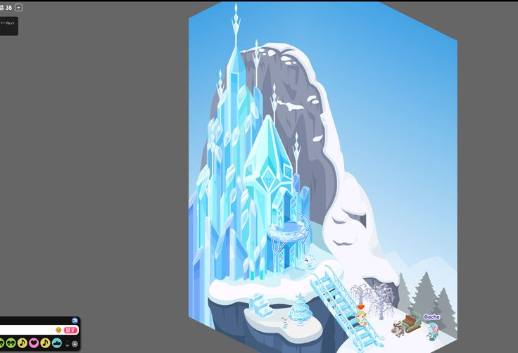 Castillo de Elsa Frozen Pigg  calabaza  Pinterest  Elsa frozen