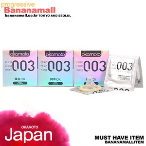 제로제로쓰리 0.03mm 3box(9p) - 신개념 일본명품 콘돔