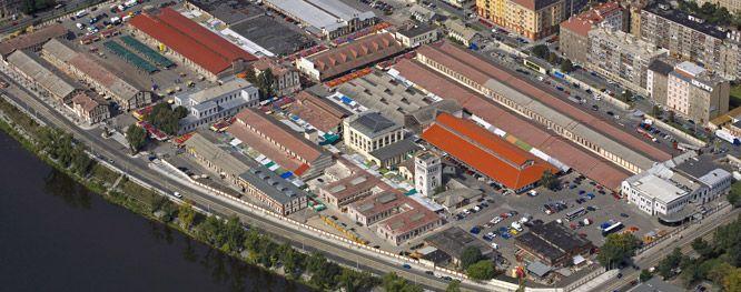 Había un mercado que se llamaba Pražská tržnice
