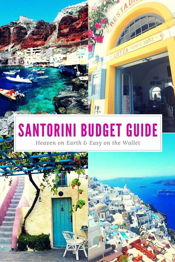 Santorini on a Budget Vol + Hôtel