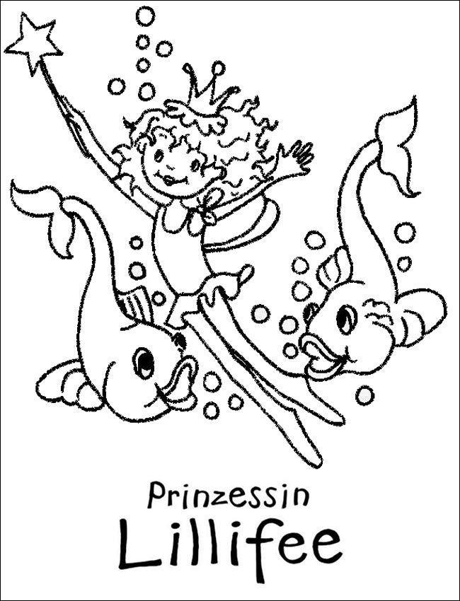 ausmalbilder lillifee meerjungfrau - tiffanylovesbooks