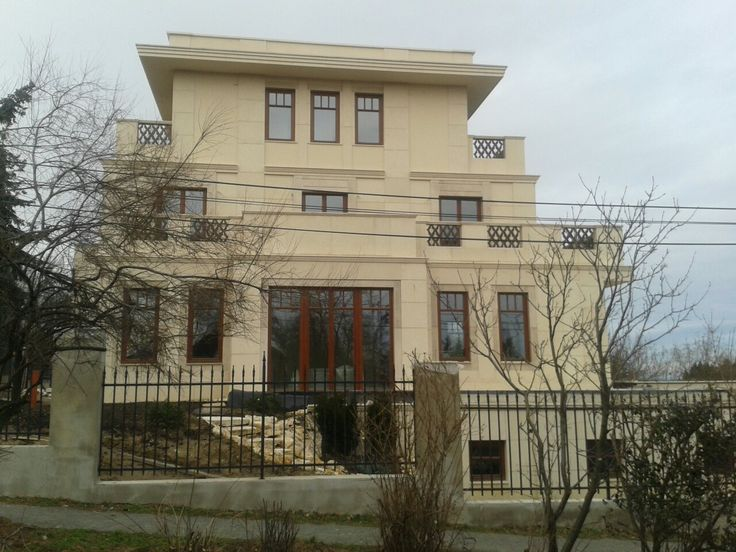 Wood windows_Wood balkony_Wood sliding doors_Exterior design_Dream home_Home building