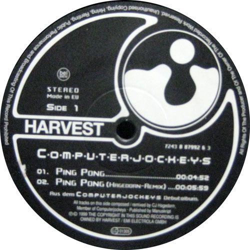 Computerjockeys - Ping Pong / Inschallah