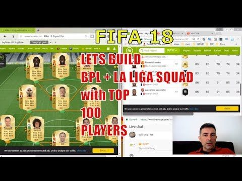 FIFA 18 Building BPLLa ligaCalcioA and Bundesliga Squads SBC with TOP 100-31 RATINGS FIFA 18 Building BPL  La liga  Calcio A and Bundesliga Squad SBC with TOP 100-31 Live Stream TOTTENHAM HOTSPUR 40. CHRISTIAN ERIKSEN An excellent crosser of the ball in both open play and from set pieces Eriksen is the creative heart of Tottenham and the Denmark national team. He keeps possession well with his 84 Dribbling ability and his 88 Passing makes him an assist machine for his teammates. BAYERN…