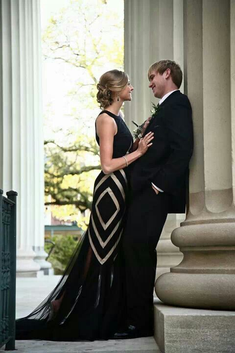 Prom pictures  Couple -me and my sweet date-