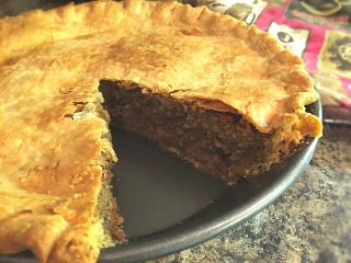 Club Foody Recipes and Videos: Tourtière (Meat Pie) -