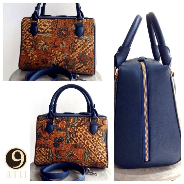 Arimbi vintage bag with batik sogan 3N