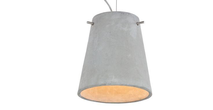 Ira Pendant, Concrete | made.com