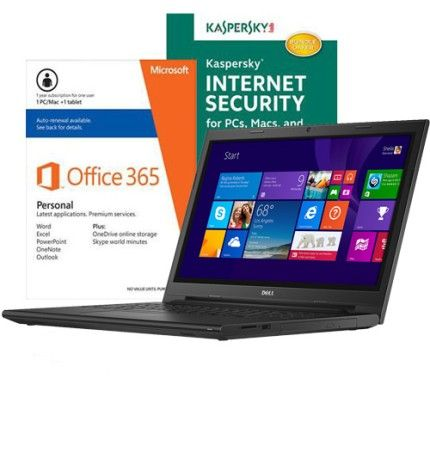 Dell Inspiron I3543-5752BLK Laptop w/ Security Software & Microsoft Office $379.99 - http://www.pinchingyourpennies.com/dell-inspiron-i3543-5752blk-laptop-w-security-software-microsoft-office-379-99/ #Dell, #Laptop