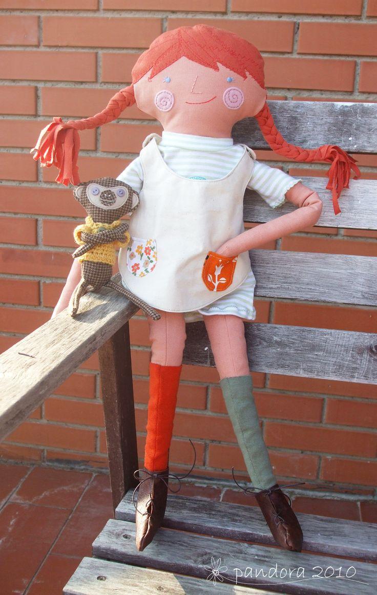 pippi calzelunghe & il signor nilsson #Pippi #Longstocking #doll