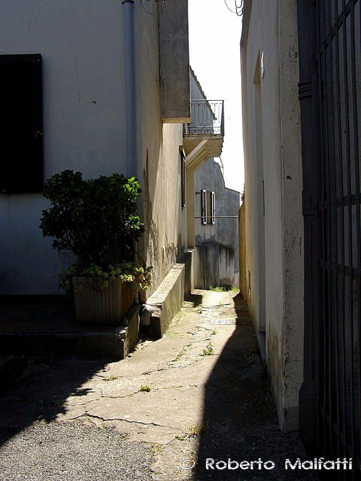 Old alley. Tuscany, Italy