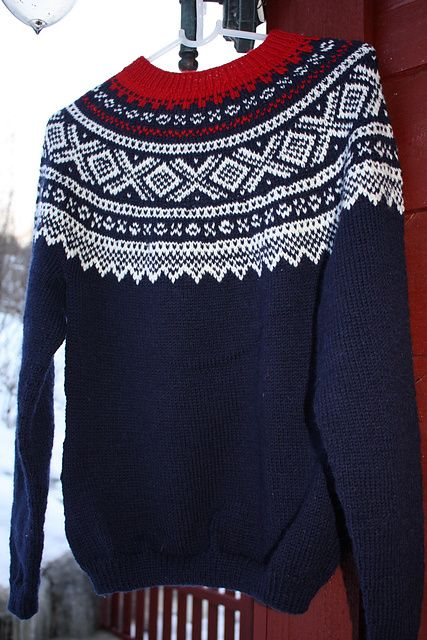 Marius sweater - a Norwegian icon! Free pattern http://www.dalegarn.com/images/misc/201301101140413.pdf