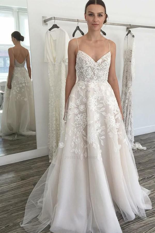 Discount Fancy Lace Wedding Dresses Ivory Wedding Dresses Backless