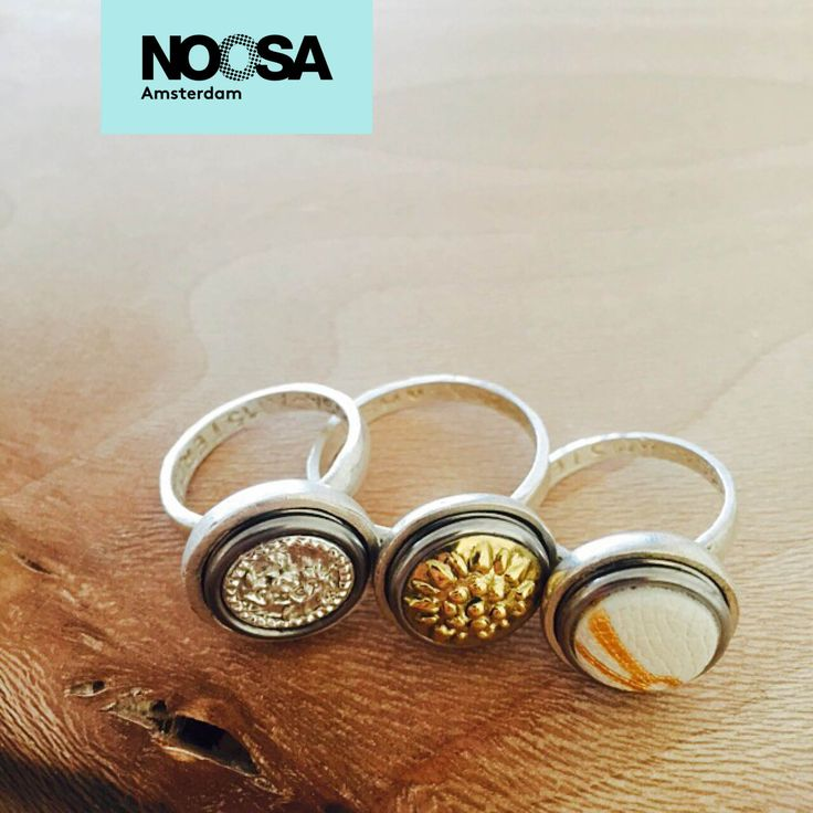 An extraordinary story. A unique style. The beauty of global cultures. You wear it in the unique designs of every NOOSA-Amsterdam Petite Ring.