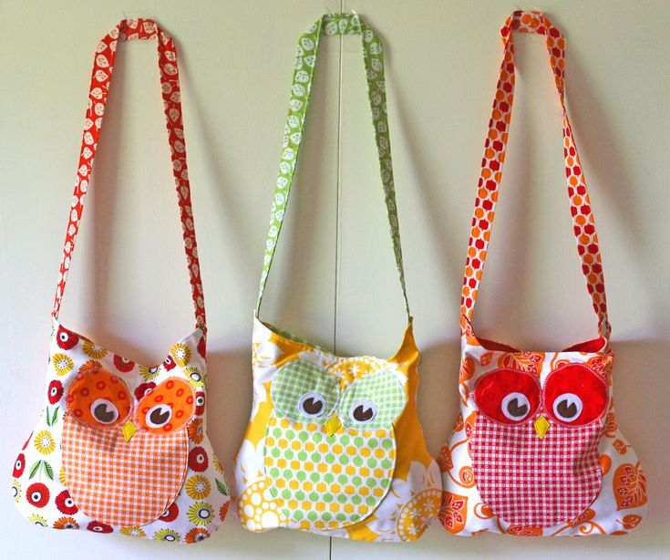 Owl bags from Gingercakes  Visit & Like our Facebook page! https://www.facebook.com/pages/Rustic-Farmhouse-Decor/636679889706127