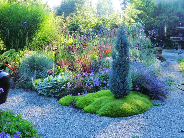 garden design ideas grasses - Garden Ideas 2012