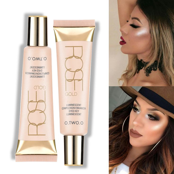 O.TWO.O Brand Face Liquid Highlighter Base Primer Bronzer Shimmer Highlighter Contour Face Cream Highlighter Makeup-in Bronzers & Highlighters from Beauty & Health on Aliexpress.com | Alibaba Group