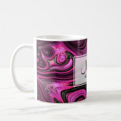 Nails Nail Artist Pedicure NailArt Purple Black Coffee Mug - decor gifts diy home & living cyo giftidea