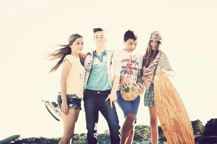 #fun #style #vacation #wakacje #młodzież #chłopak #dziewczyna #boy #girl #summer #b-karo #3pommes #united4.pl