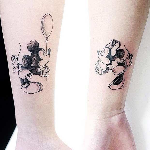 10 Niedliche Disney Tattoos, Über Die Perfekte