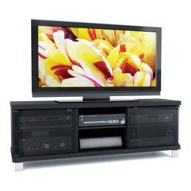 sonax holland midnight black television stand