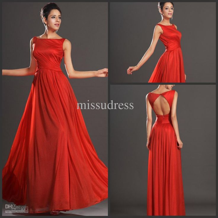 Buy cheap discount cheap dress red bateau hollow back sexy with $100.8-117.6/Piece DHgate
