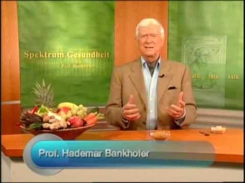 Spektrum Gesundheit-Bockshornkleesamen bei Haarausfall -  Interviewpartner von Prof. Bankhofer ist Dr. Jürgen Reimann, Apotheker und Wissenschaftler. Es wird besonders auf die Verwendung des Bockshornkleesamens bei Haarausfall eingegangen.  - #German