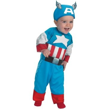 Captain+America+Infant+/+Toddler+Costume: Babies, Halloween Costumes, America Infant, Toddler Costumes, Captain America Costume, Infant Costumes, Infants, Baby Boy, Superhero