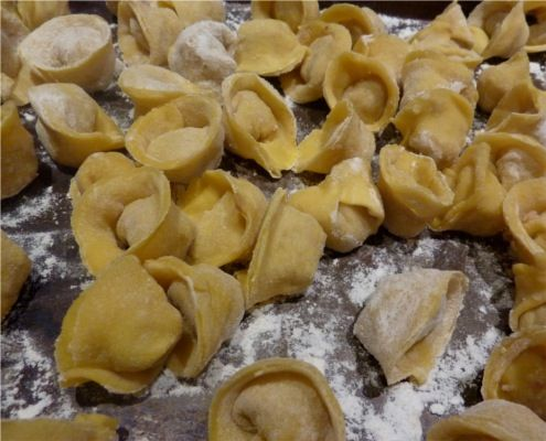 Homemade Tortellini..just in time for the Holidays