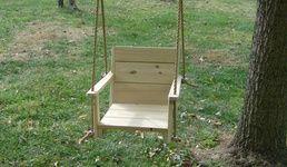 Porch Swings - Wooden Porch Swings for Sale | Wood Tree Swings