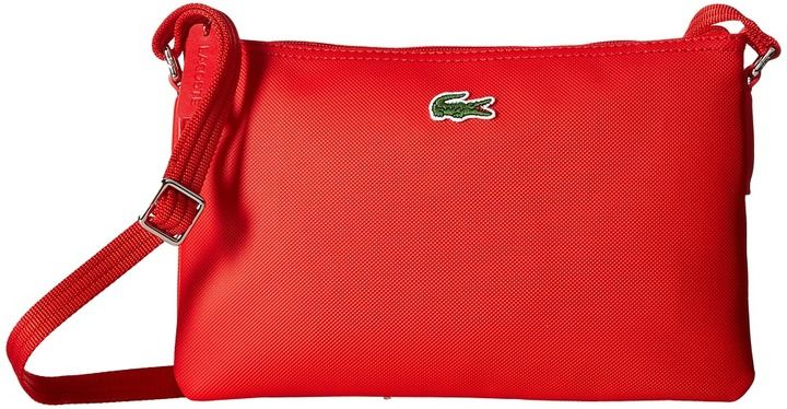 Lacoste L.12.12 Concept Flat Crossover Bag Cross Body Handbags